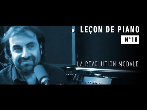 Leçon de piano n°18 -  La révolution modale