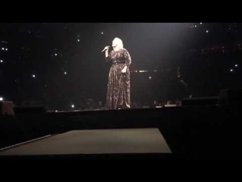"Adele intro - ""Hello"" Atlanta, GA"
