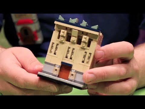 How to build a lego house microscale building youtube for How to start building a home