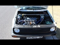 Very Quick 16v MK2 VW Golf with ITB's