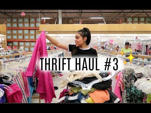 Thrift Haul + Try On | VA Edition | Ep #3