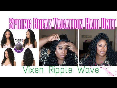 Spring Break Vacation Hair Unit(Vixen Ripple Wave)