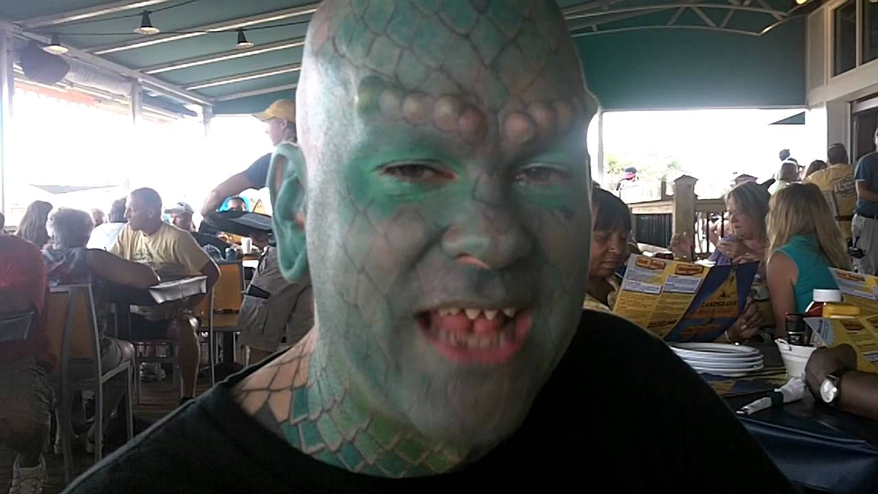 Lizard Man W Mike Dame Myrtle Beach