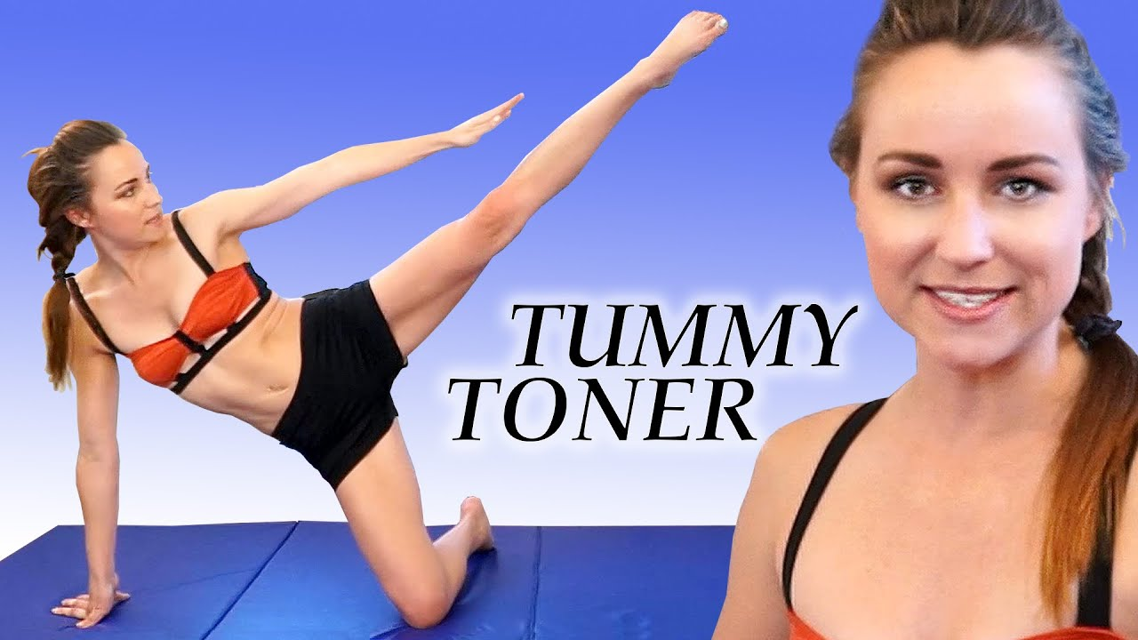 Flat Stomach Exercises And At Home Ab Toning Workout Joy