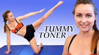Flat Stomach Exercises and At Home Ab Toning Workout, Joy of Fitness 20 Minute