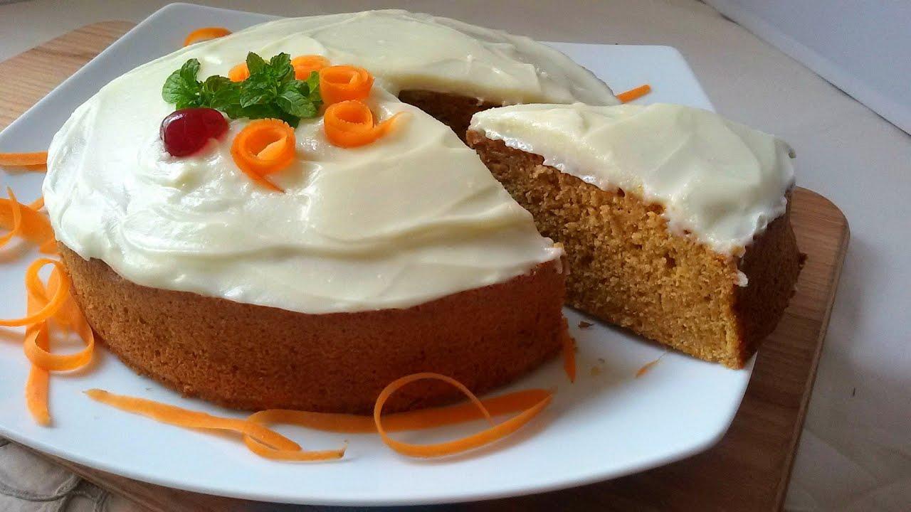 receta de pastel de zanahoria sin azucar