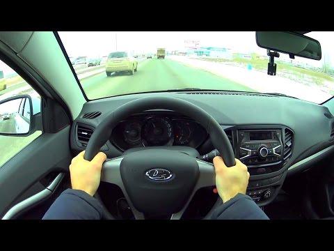 2016 Lada Vesta Comfort 1.6 МТ POV Test Drive