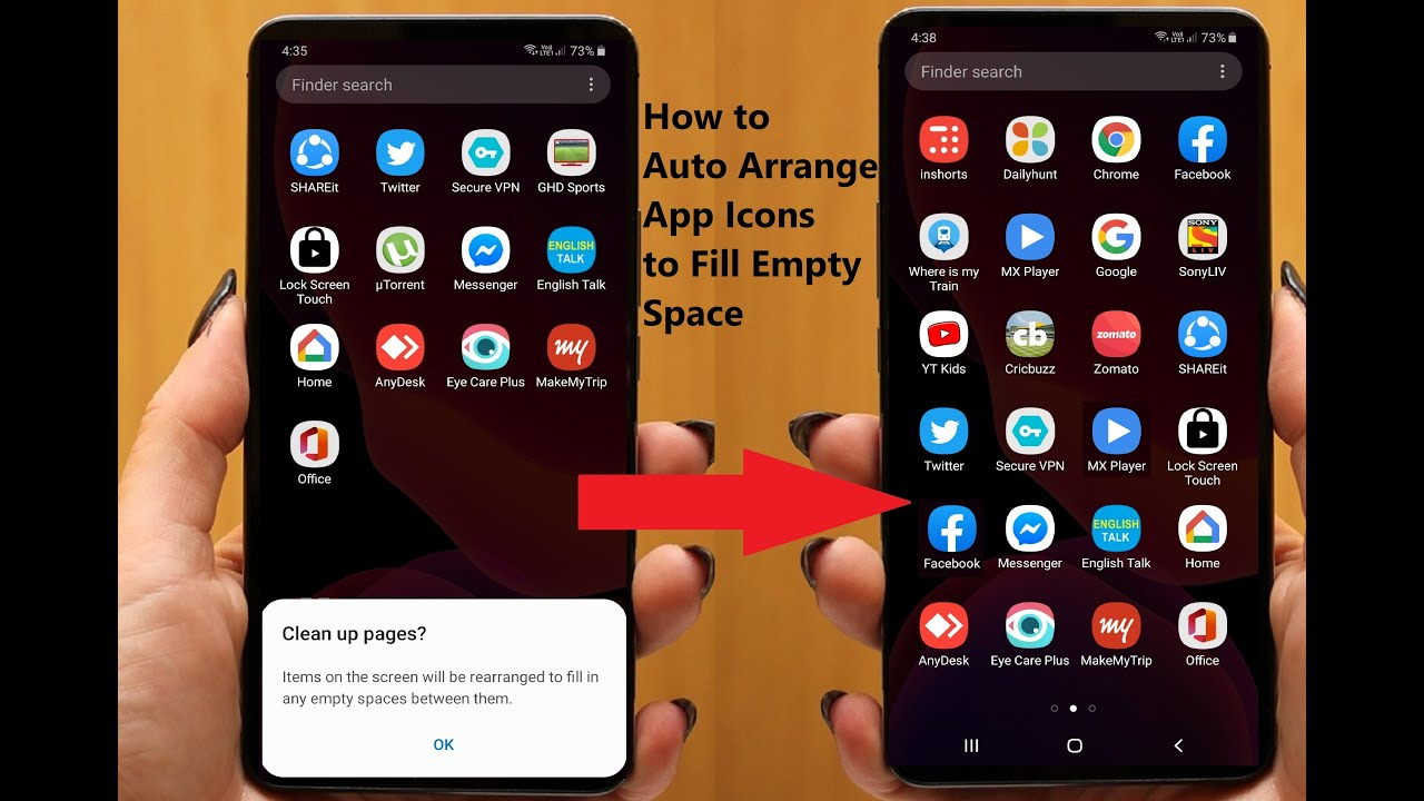 How To Organise Apps On Android