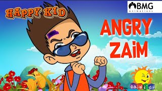 Happy Kid | Angry Zaim | Episode 183 | Kochu TV | Malayalam | BMG