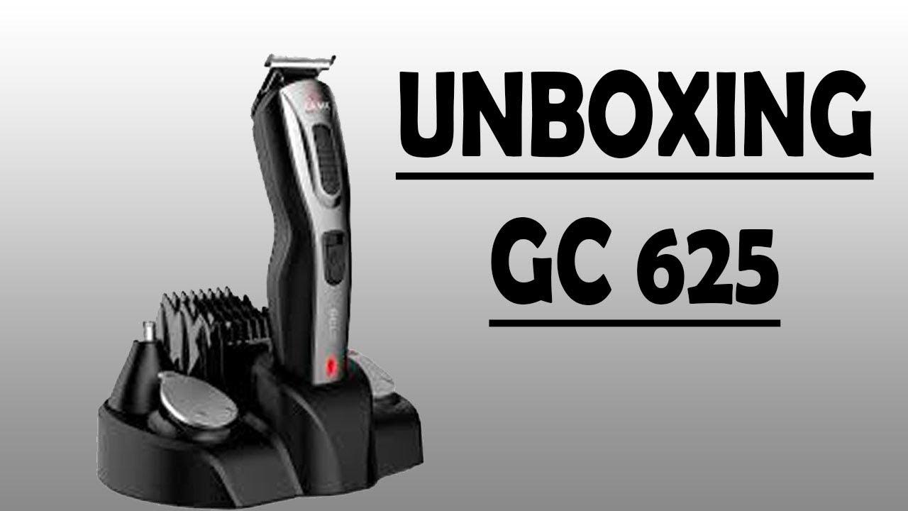 d80f0f3a8 Maquina de barbear e cabelo Gama GC625 - UNBOXING - YouTube