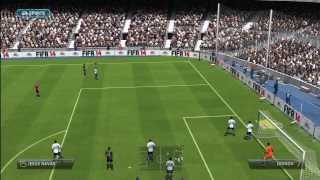 FIFA 14, Xbox 360 Demo Gameplay