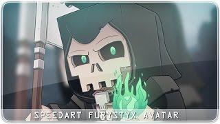 Minecraft SpeedART - FuryStyx Avatar
