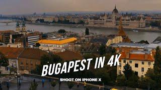 Dark Budapest Trailer — iPhone X Cinematic 4k