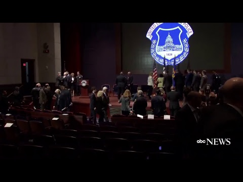 Congressional shooting heroes, 5 U.S. Capitol Police officers, awarded medal of honor