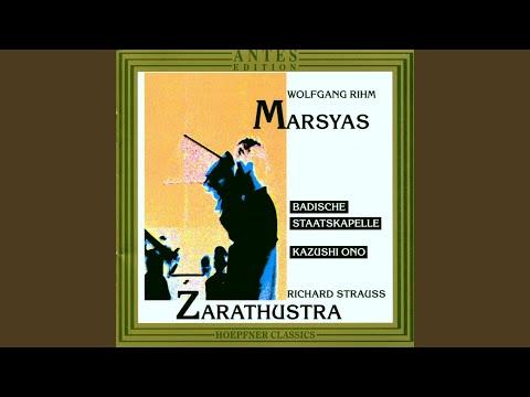 Richard Strauss: Also Sprach Zarathustra, Der Genesende