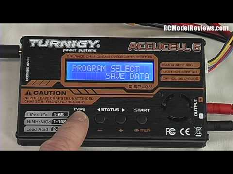 How to charge a lipo battery using a 4-button charger
