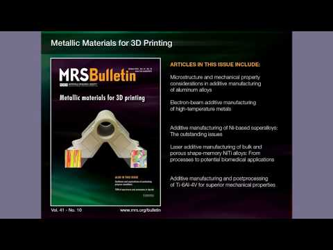 Metallic Materials for 3D Printing