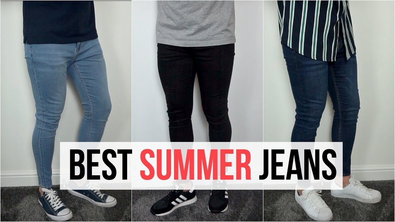 Marte Fagioli verdi Inibire  BEST MEN'S SKINNY JEANS FOR SUMMER 2019   3 Easy & Simple Outfits   Men's  Fashion - YouTube