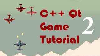 c qt game tutorial 2 moving with the arrow keys
