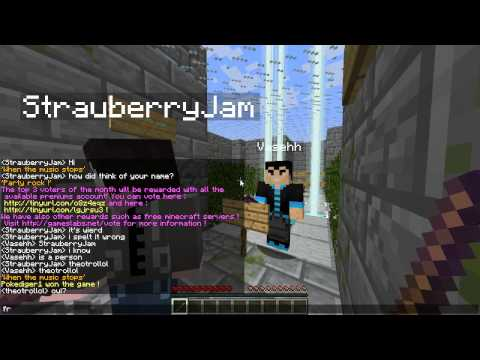 Minecraft: Mini Game Musical Chairs w/ Vasehh, Podcrash and Strauberry!
