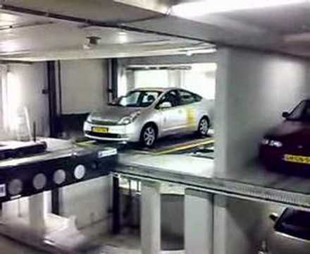 Underground Automatic Parking Garage Rustenburg Oostbroek