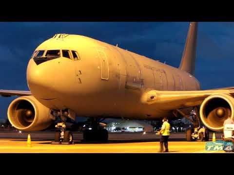 [SBFZ/ FOR] Pouso & Decolagem RWY13 Boeing KC-767A MM62228 Aeronautica Militare 29 & 30/06/2017