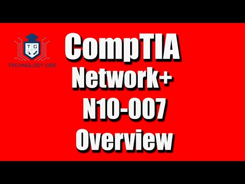 Network+ N10-007 Certification Overview