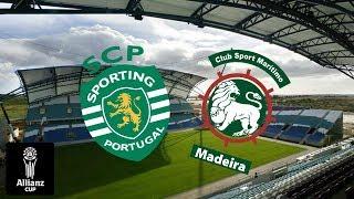 Sporting 3-1 Marítimo - Allianz Cup EM DIRETO (Relato)