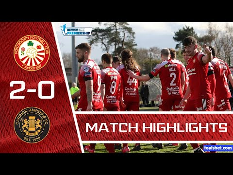 Portadown Carrick Rangers Goals And Highlights