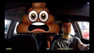 Uber Passenger Poops in Driver's Car! (My Reaction)