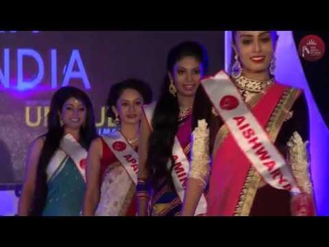 Miss Queen of India 2016 -  Designer Saree Round
