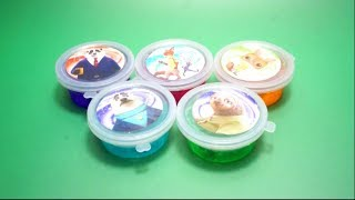 Unboxing Zoomania Slime with Toys Pikachu Pokemon