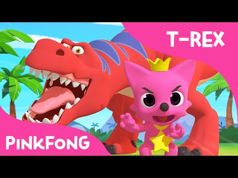 Tyrannosaurus-Rex Dance With PINKFONG | Dinosaur Songs | PINKFONG Songs for Children