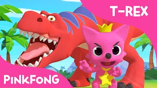 tyrannosaurus rex dance with pinkfong   dinosaur songs   pinkfong songs for children