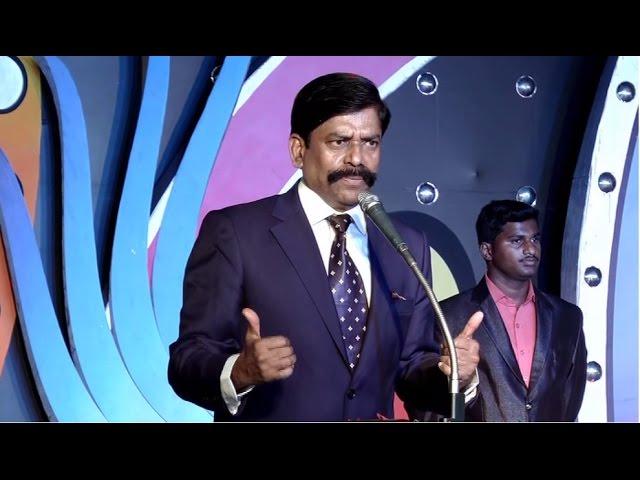 Kaliyamoorthy SP speech at Salem College