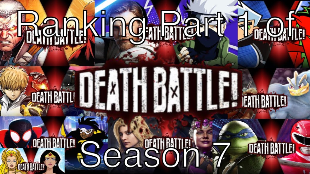 Ranking the First Half of DEATH BATTLE Season 7