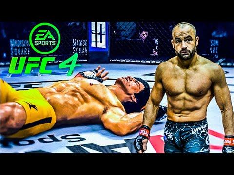 Download BRUCE LEE VS EDDIE ALVAREZ   UFC 4 BRUTAL FIGHT   UFC 4   UFC 4 2021   EA SPORTS UFC 4