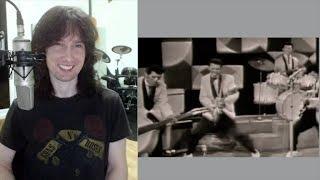 British guitarist analyses the Tielman Brothers crazy showmanship in 1960!