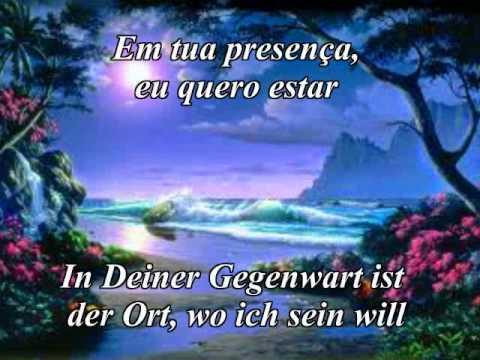 PRA TE ADORAR Giselli Cristina Deutsch Portugiesisch Karaoke