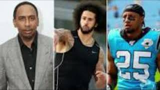 Stephen A  Smith and Eric Reid trade words over Colin Kaepernick workout