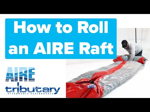 Inflatable Rafts: Rolling And Packing 2020