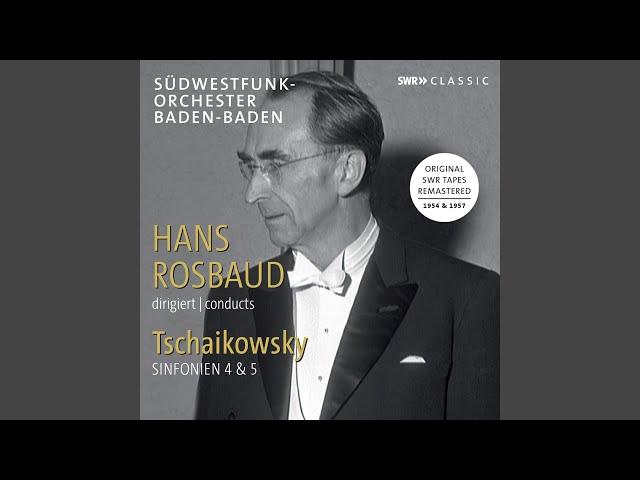 Symphony No. 4 in F Minor, Op. 36, TH 27: I. Andante sostenuto - Moderato con anima