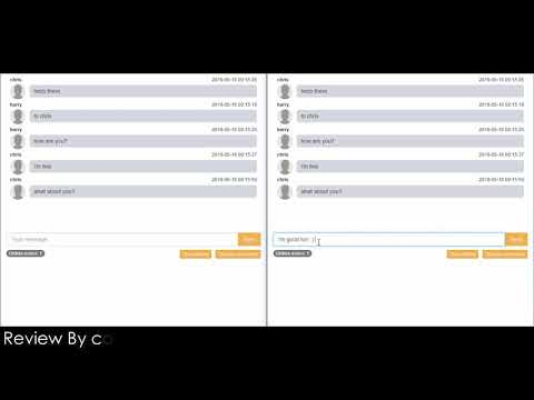 Simple Chatroom Application In PHP With Source Code | Source Code & Projects
