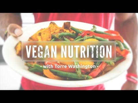 Torre Washington - Vegan Bodybuilding Nutrition