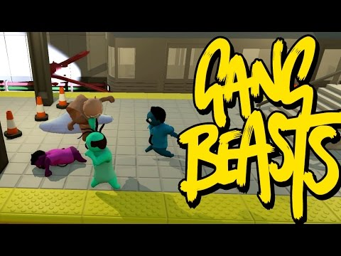 Gang Beasts ONLINE - FIGHTIN DURTY