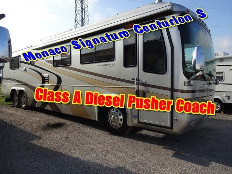 Monaco Signature Centurion S | Stunning Luxury In This Used Class A Diesel Pusher Coach