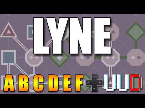 LYNE прохождение Set - A B C D E F (Walkthrough, Playthrough)