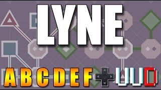 lyne прохождение set a b c d e f walkthrough playthrough
