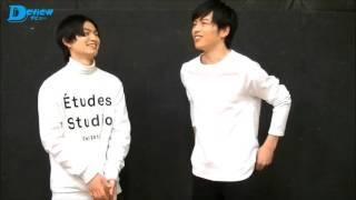 松田凌&鈴木勝吾が、少年社中×東映 舞台プロジェクト『パラノイア★サーカス』の見どころを語る。