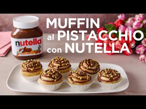 MUFFIN AL PISTACCHIO CON NUTELLA® - Ricetta Facile Fatto in Casa da Benedetta